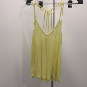 Yellow tank top. Express